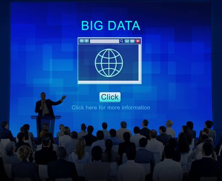 net meeting: Internet HTML Homepage Browser Big Data Concept