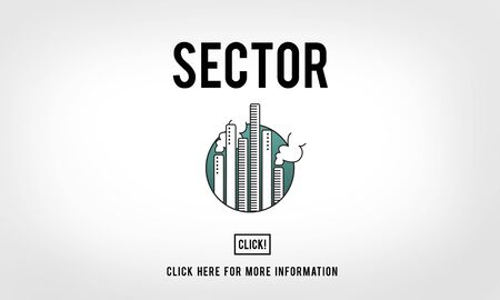 sector: Sector Chart Circle Graphic Information Part Piece Concept