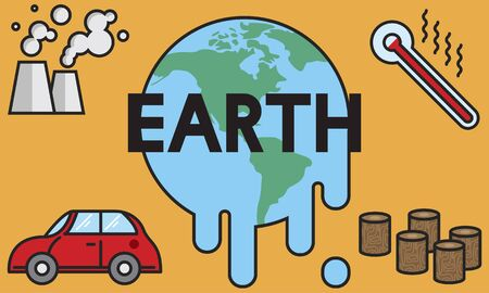 temperature: Temperature Save Earth Pollution Planet Environment Climate Change