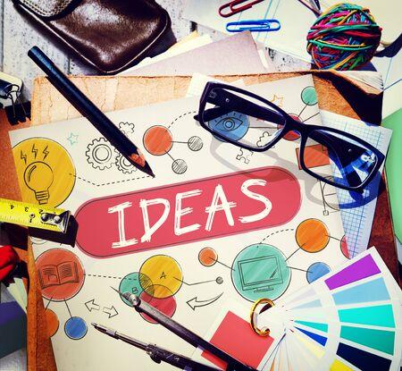medium: Ideas Mission Imagination Icons Vision Concept