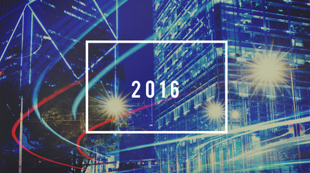 labelling: Year 2016 Possibilities Chances Changes Concept