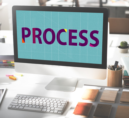 method: Process Method Strategy Operation Procedure Concept Stock Photo