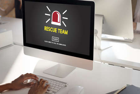 paramedic: Rescue Team Paramedic Support Help Emergency Concept