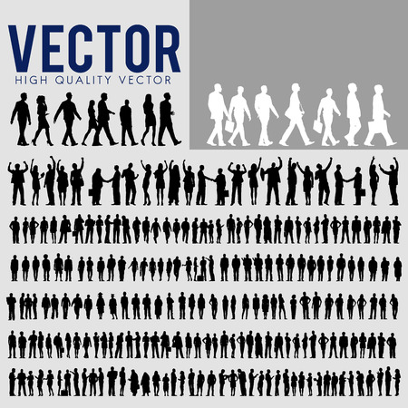 Vector Business People corporate Company Concept Stock Illustratie