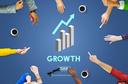 change business: Grwoth Business Launch Success Improvement Concept