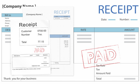 Invoice Forms Printable Excel Paid Bill Images  Stock Pictures Royalty Free Paid Bill Photos  Payable Invoice Word with Confirm The Receipt Word Paid Bill Invoice Bill Paid Payment Financial Taxation Concept Apple Receipts