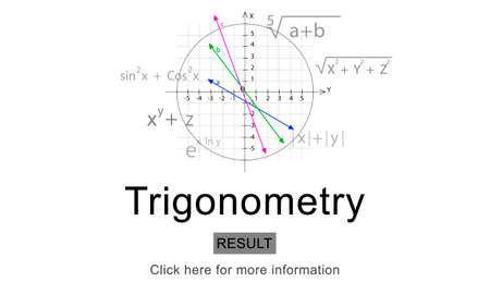 equation: Trigonometry Algebra Equation Knowledge Learn Concept