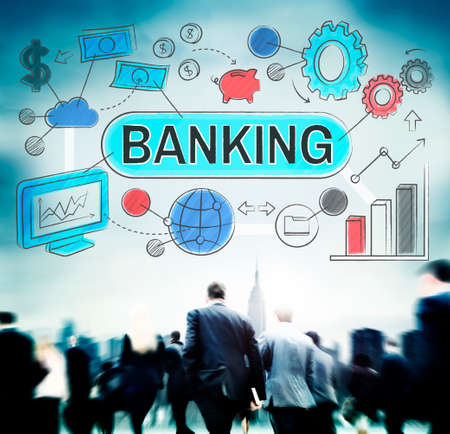 action fund: Banking Finance Business Management Fund Financial Concept