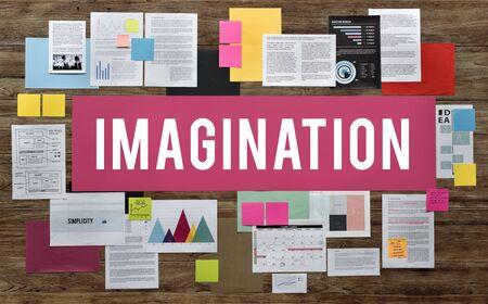 visualise: Imagination Creativity Envision Fresh Ideas Vision Concept