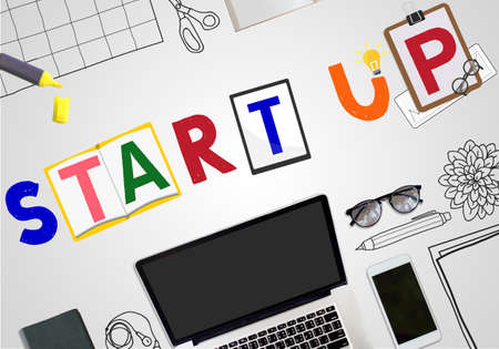 aspiration: Start Up Business Growth Launch Aspiration Concept Stock Photo