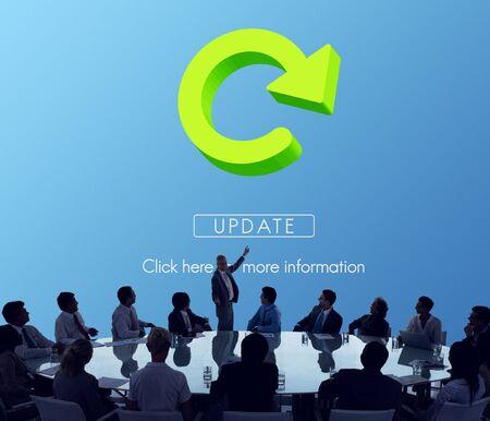 restart: Refresh Restart Beginning Renew Concept Stock Photo