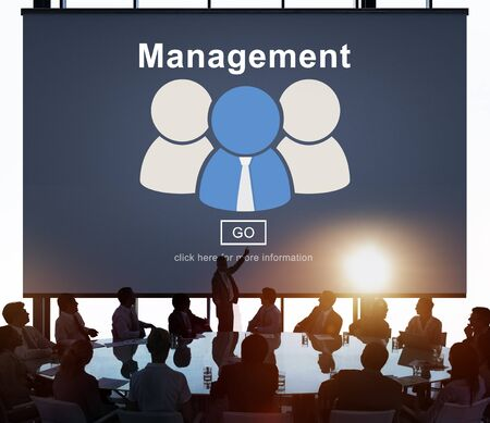 mentor: business, coaching, controlling, coordination, dealing, management, manager, managing, mentor, organization, process, roles of management, strategy, supervising, word Stock Photo