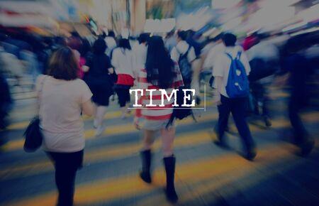 punctual: Tiempo de duración Puntual Programación Concepto Cronómetro