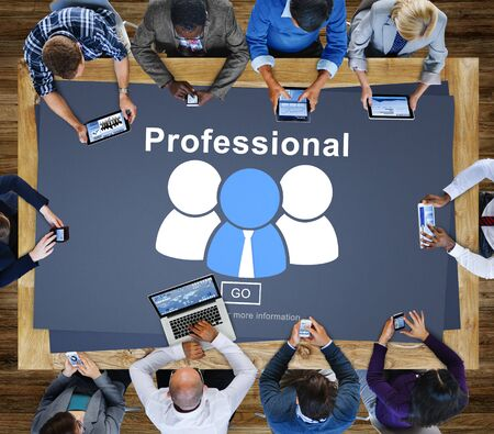Professional Ability Skilled Expertise Proficiency Concept Stock Photo