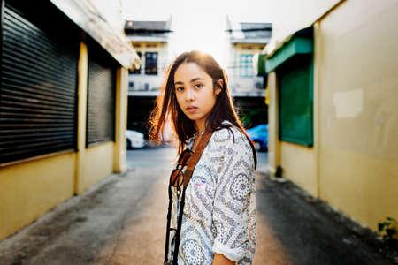 chic: Chic Youth Culture Urban Scene Woman Concept