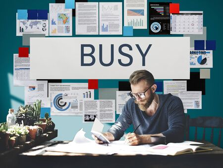 overload: Busy Overload Working Hardworking Concept