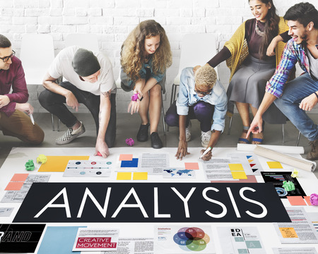 reseach: Document Marketing Strategy Business Concept Stock Photo