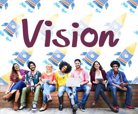 Vision Planning Motivation Organization Business Concept