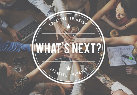 breaking new ground: Whats Next? Upcoming Next Big Thing Breaking New Ground Concept