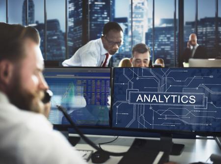 analyze: Analytics Analyze Data Analysis Informaion Research Concept