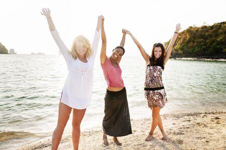 best travel destinations: Girl Women Celebration Friendship Leisure Party Concept