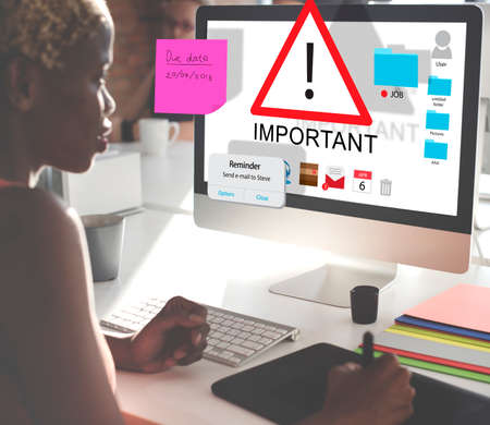 importance: Important Importance Priority Significant Remind Concept Stock Photo