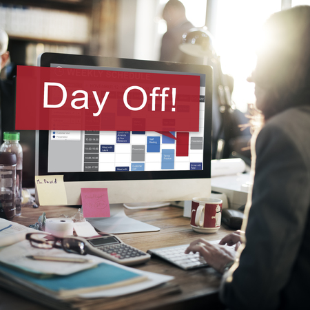 Day Off Holiday Vacation Relaxation Getaway Concept Stock Photo