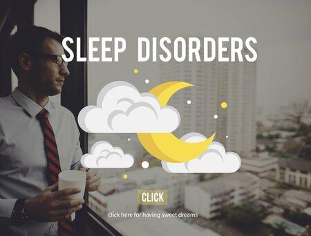 disturbed: Sleep Disorder Disturbed Insomnia Depression Concept