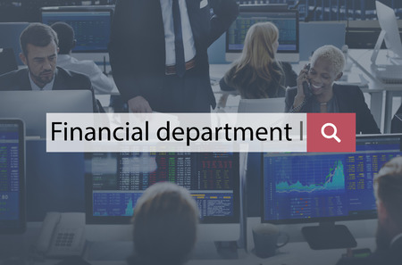 ministry: Financial Department Section Ministry Division Concept