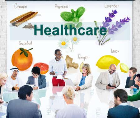 eastern medicine treatment: Health Care Treatment Vitamins Healthy Concept
