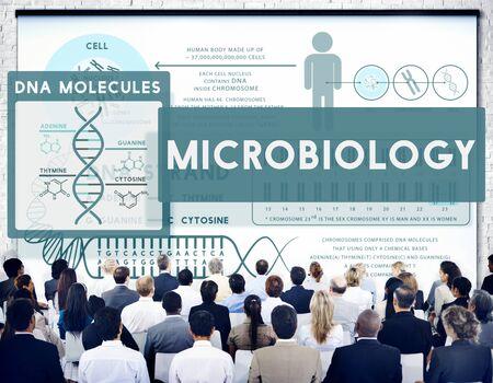 MicroBiology Bacteria Disease Illness Laboratory Concept