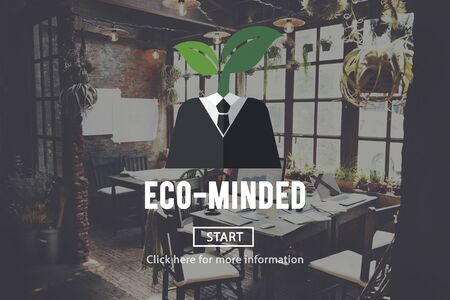 environmentalist: Eco-Minded Green Business Concept