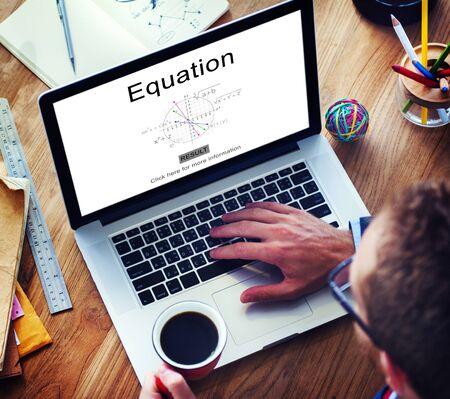 equation: Equation Formula Geometry Calculation Concept