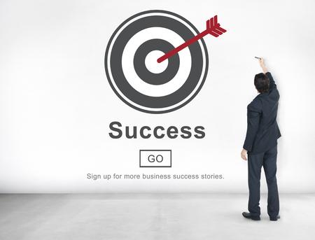 accomplishment: Success Achievement Accomplishment Successful Concept