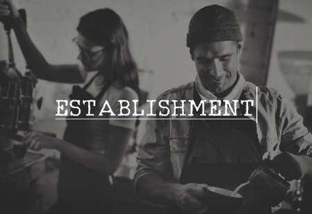 establishment: Establishment Expertise Recruitment Goals Hiring Job Concept