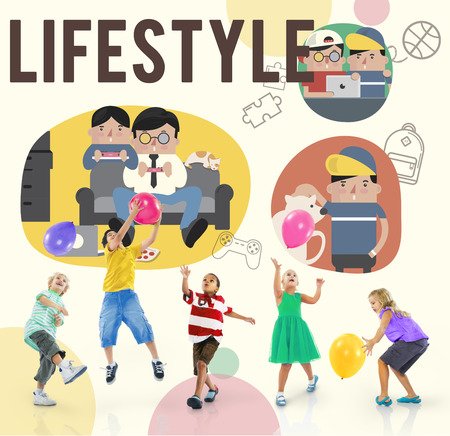 playful behaviour: Lifestyle Hobby Activity Leisure Concept