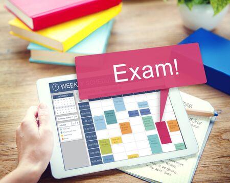 remember: Examen de la Lista de Planificación Educación Recuerde Concept