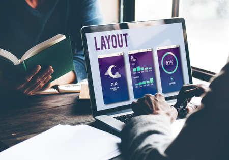layout: Design Layout Mobile Interface Concept