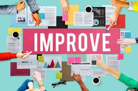 better: Improve Innovation Progress Reform Better Concept Stock Photo