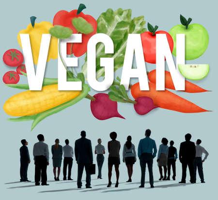 man rear view: Vegan Healthy Eating Food Vegetable Vegetarian Concept