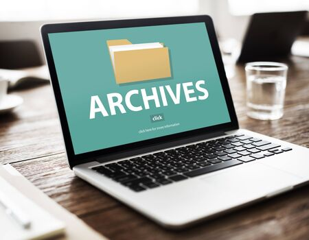 Files Index Content Details Document Archives Concept Stock Photo