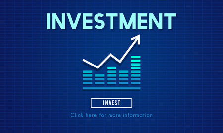 costs: Invest Investment Financial Income Profit Costs Concept Stock Photo