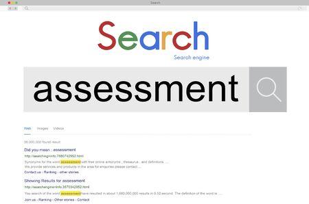 review: Assessment Evaluation Review Survey Concept