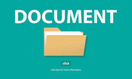 details: Files Index Content Details Document Archives Concept Stock Photo