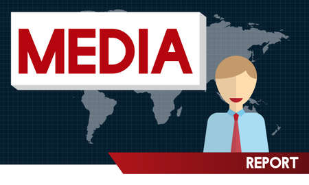 information medium: Media Digital Internet Communication Information Concept