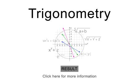 trigonometry: Trigonometry Algebra Equation Knowledge Learn Concept