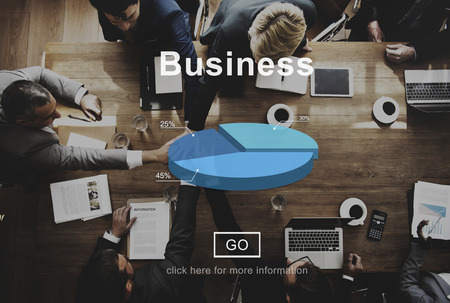 Business with meeting concept