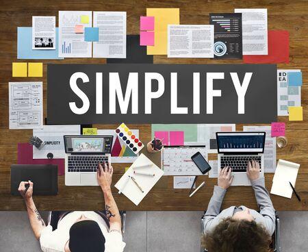 clarify: Document Marketing Strategy Business Concept Stock Photo