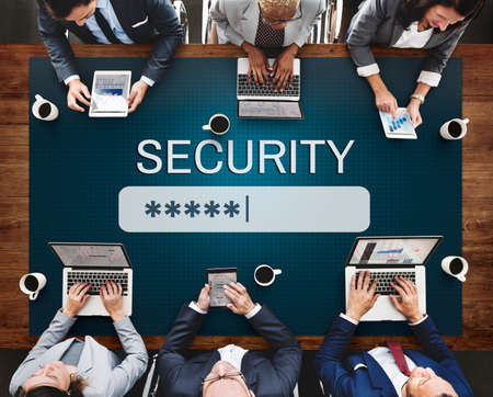 account executive: Security Sign Log In Up Password Secret Concept