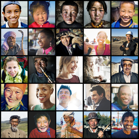 Diversity Diverse Ethnic Ethnicity Unity Variation Concept Фото со стока